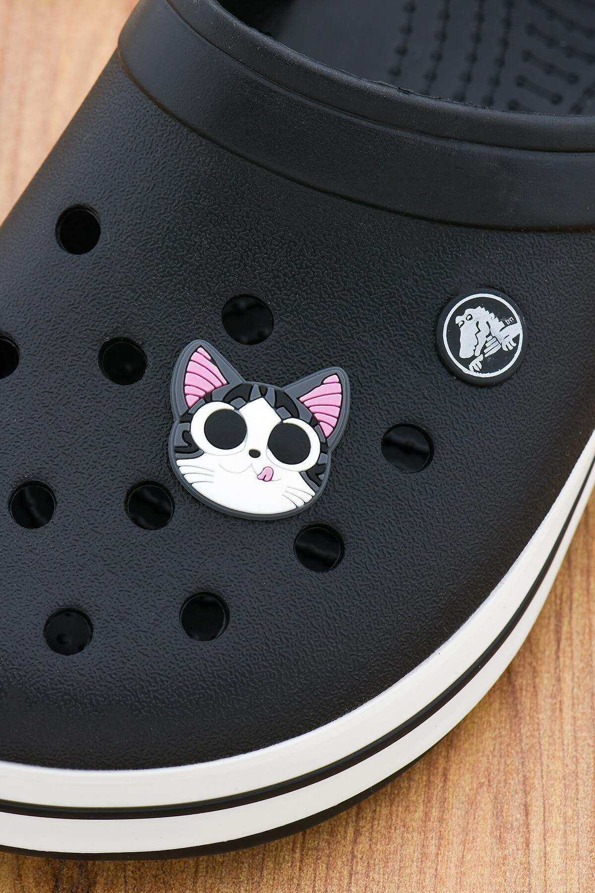 Kedi Jibbitz Crocs Terlik Süsü Charm Terlik Aksesuarı - CRS0015