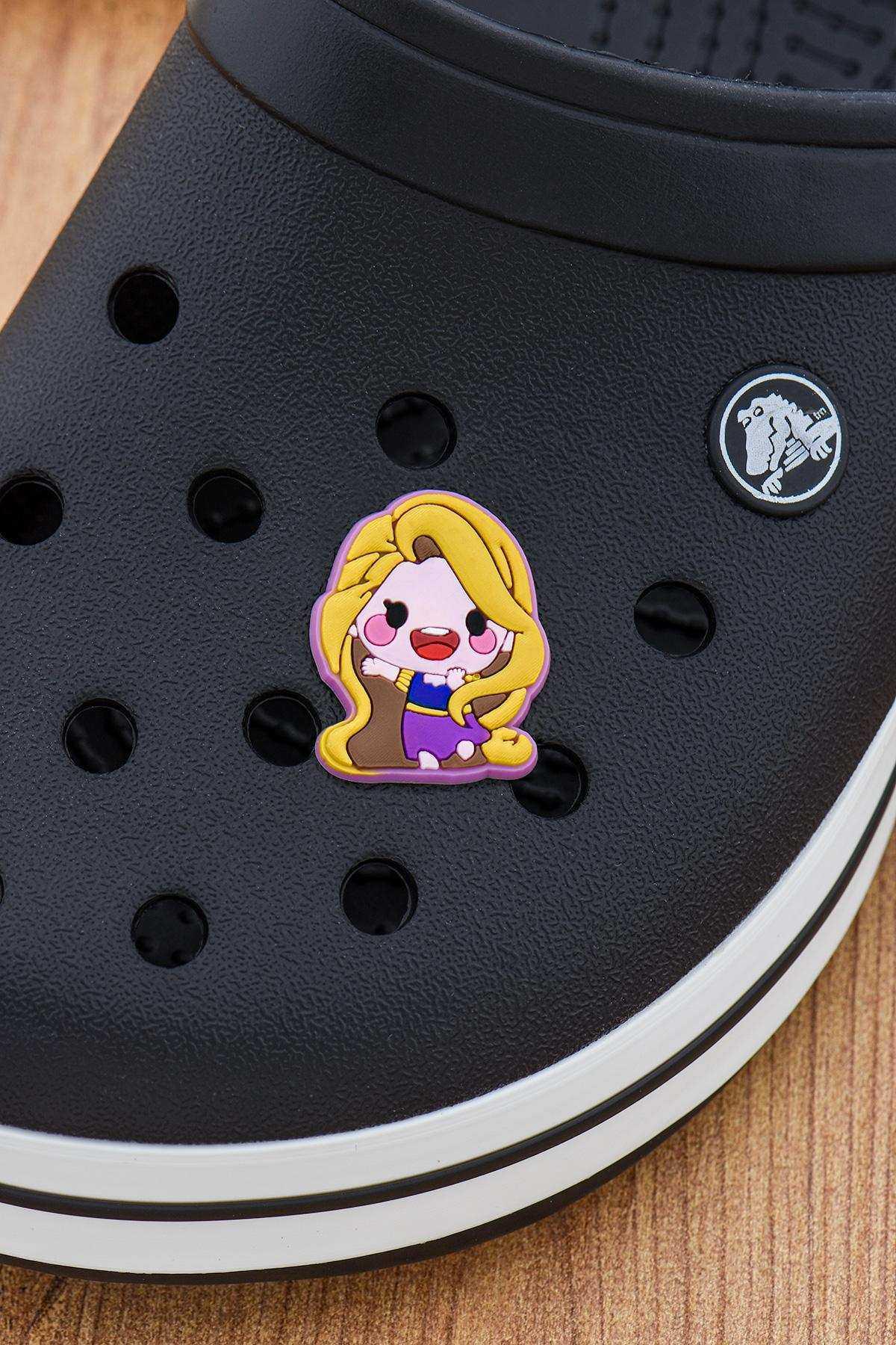 Rapunzel Jibbitz Crocs Süsü Bileklik Terlik Süsü Charm Terlik Aksesuarı - CRS0121