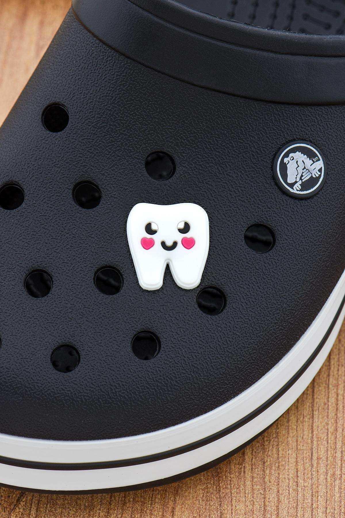Diş Jibbitz Crocs Süsü Bileklik Terlik Süsü Charm Terlik Aksesuarı - CRS0128