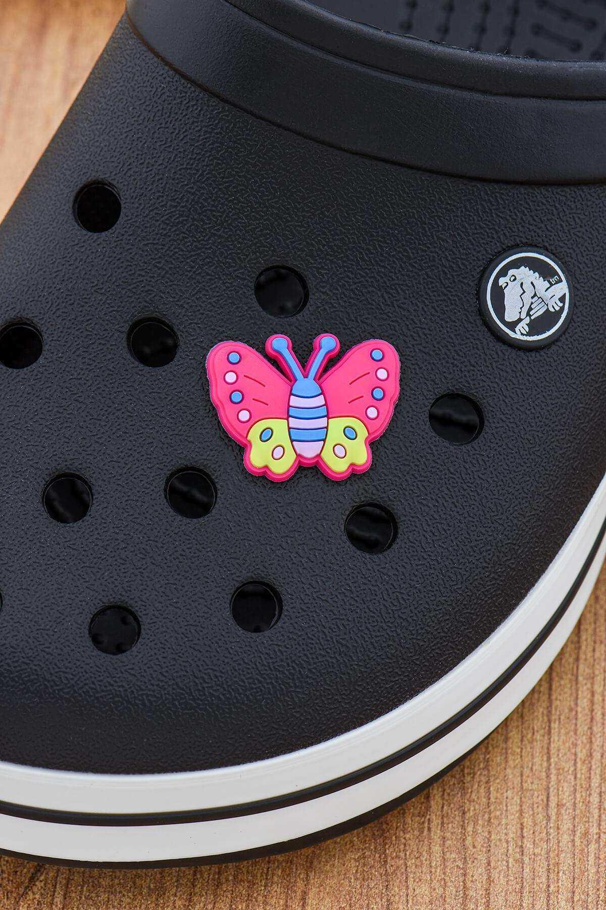 Kelebek Jibbitz Crocs Süsü Bileklik Terlik Süsü Charm Terlik Aksesuarı - CRS0127