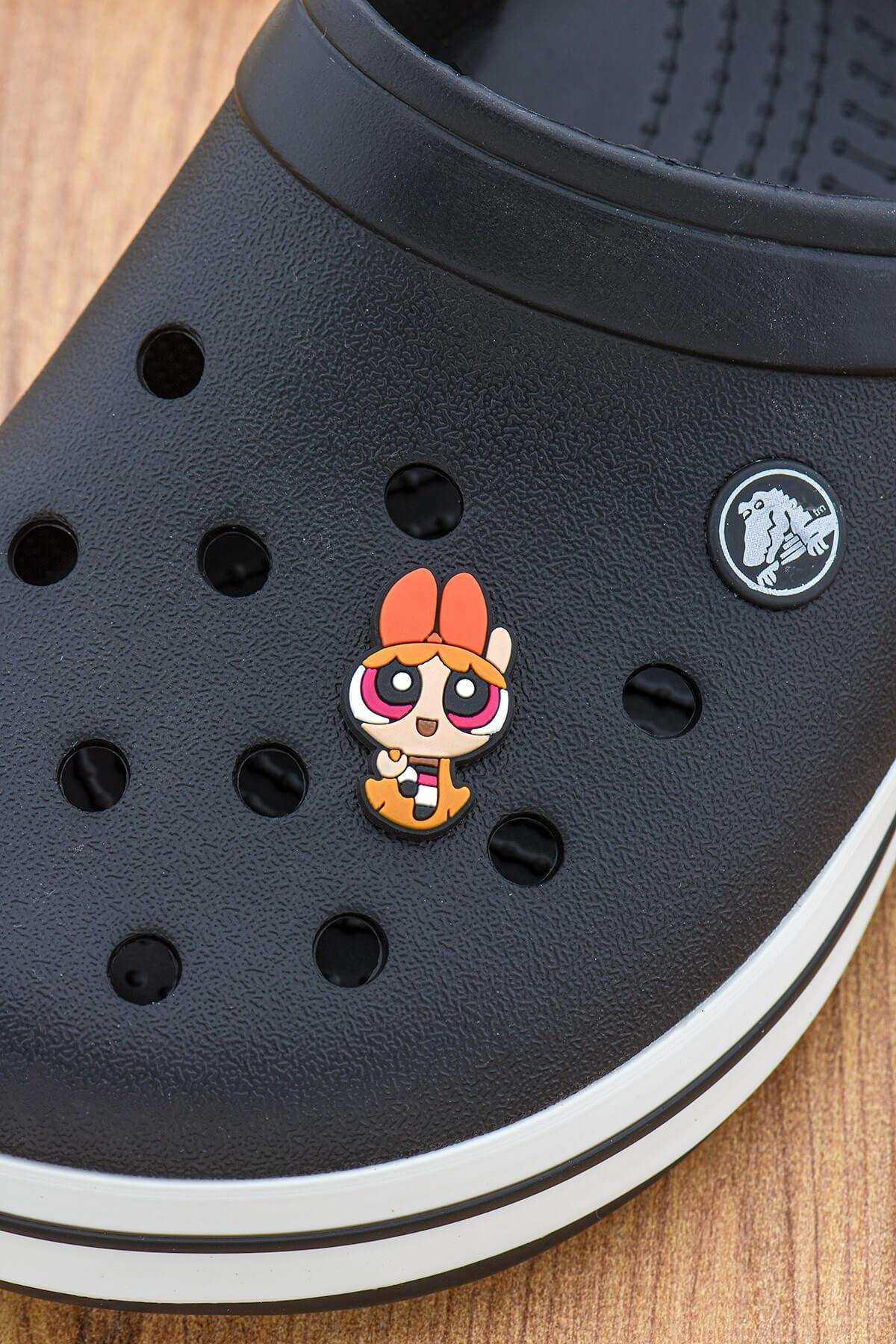 Powerpuff Girls Blossom Crocs Süsü Bileklik Terlik Süsü Terlik Aksesuarı - CRS0038