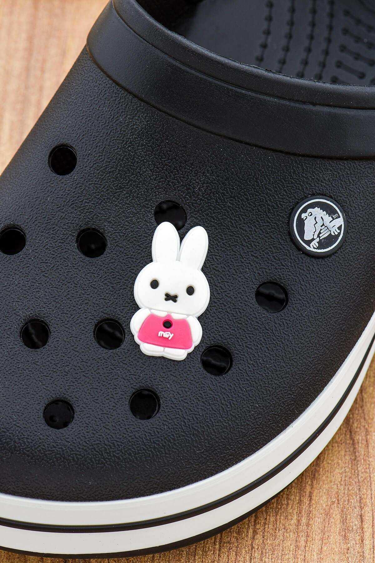 Tavşan Crocs Süsü Bileklik Terlik Süsü Charm Terlik Aksesuarı - CRS0054
