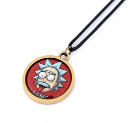 Rick and Morty Resimli Kolye - KOL0396