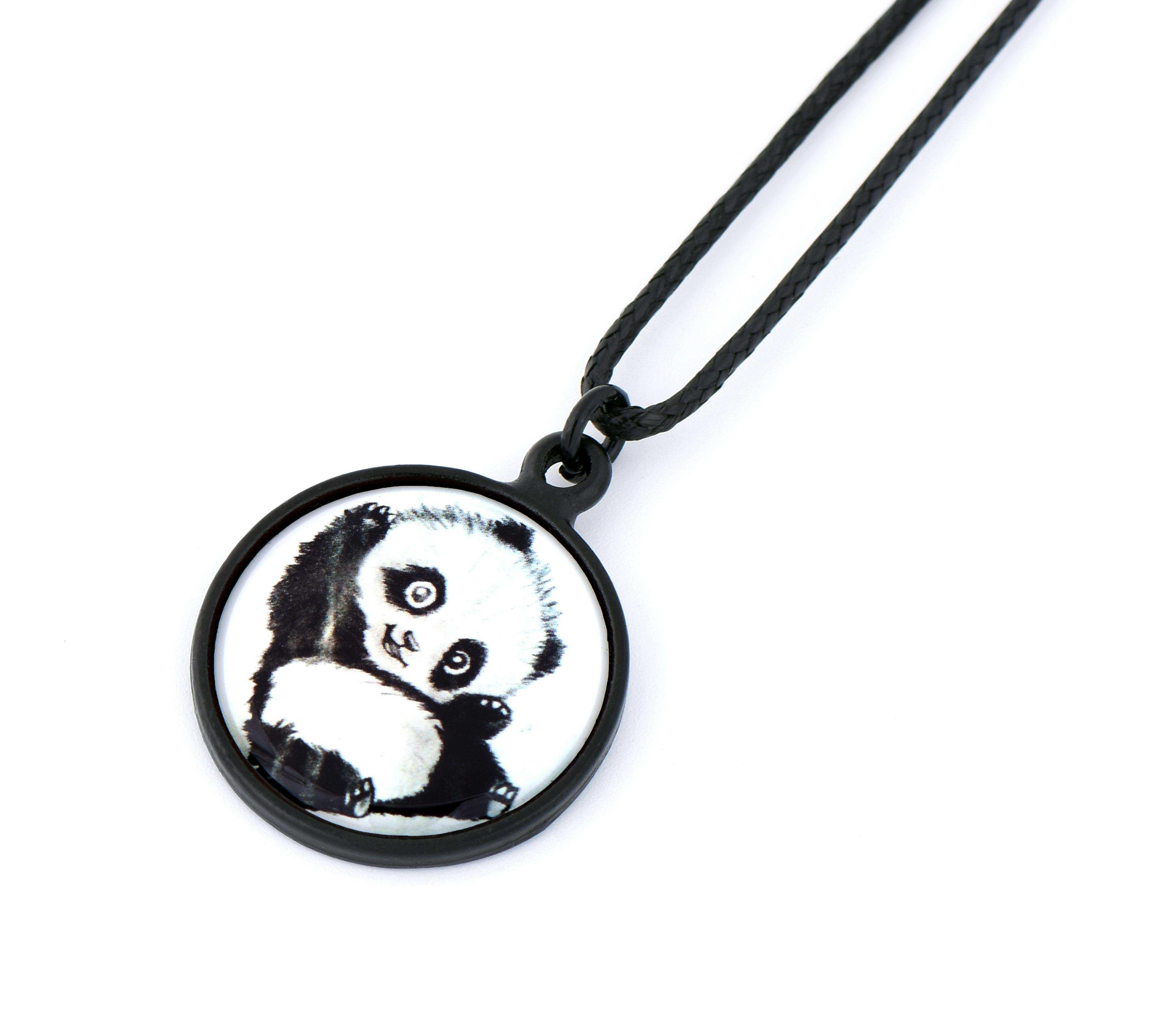 Baby Panda Resimli Kolye - KOL0443