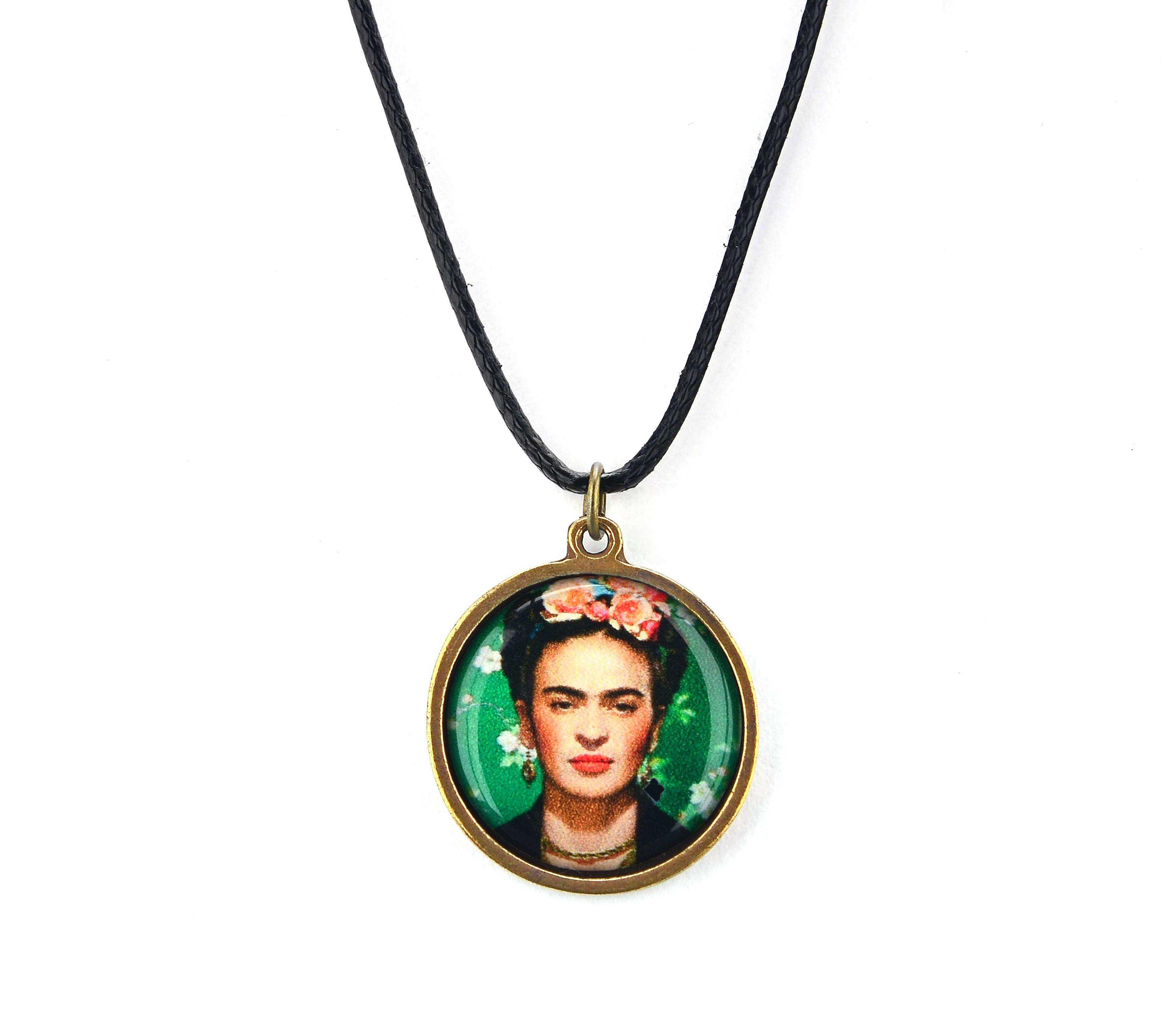 Frida Kahlo Kolye - KOL0325