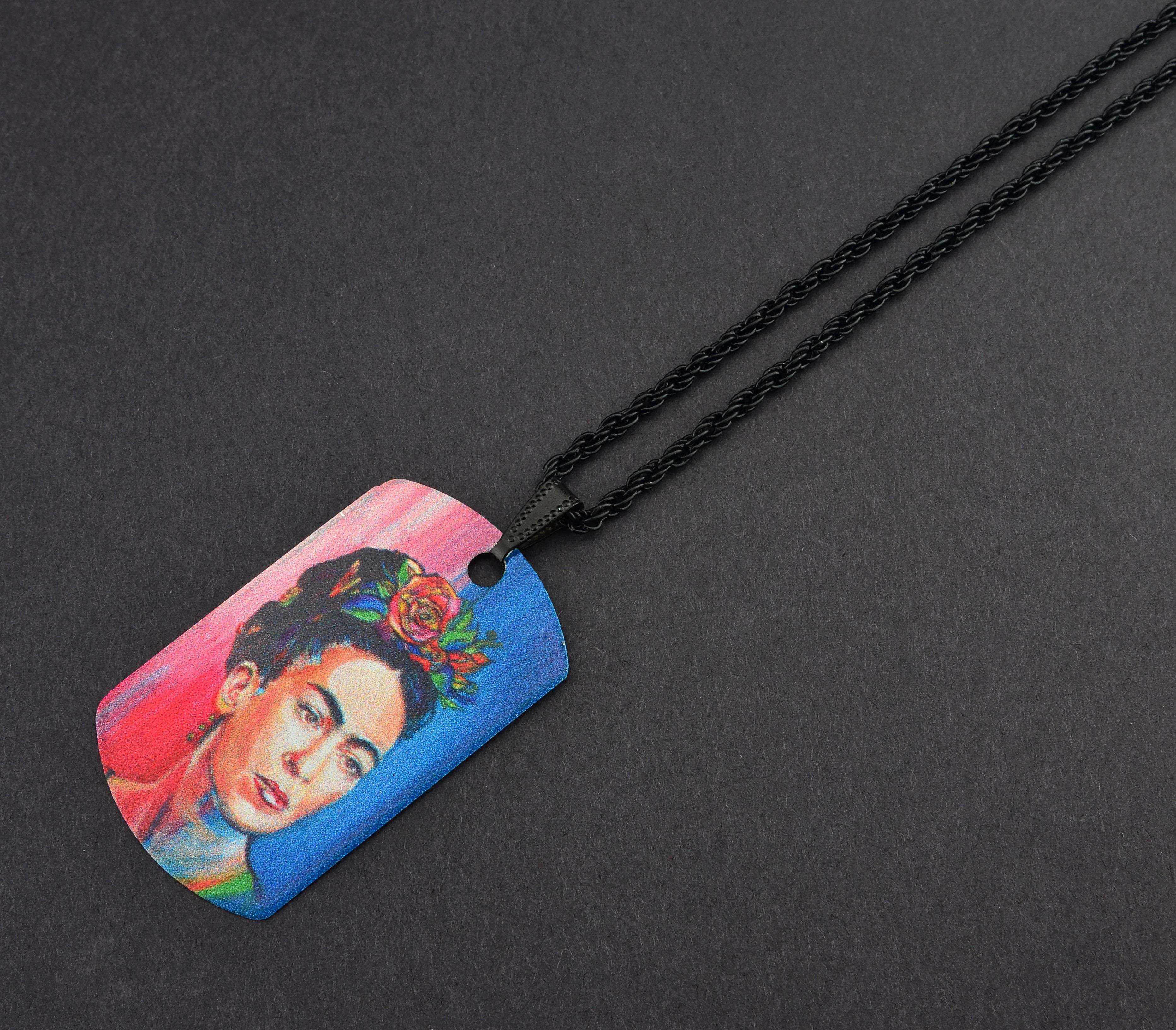 Frida Kahlo Künye Kolye - KOL0276