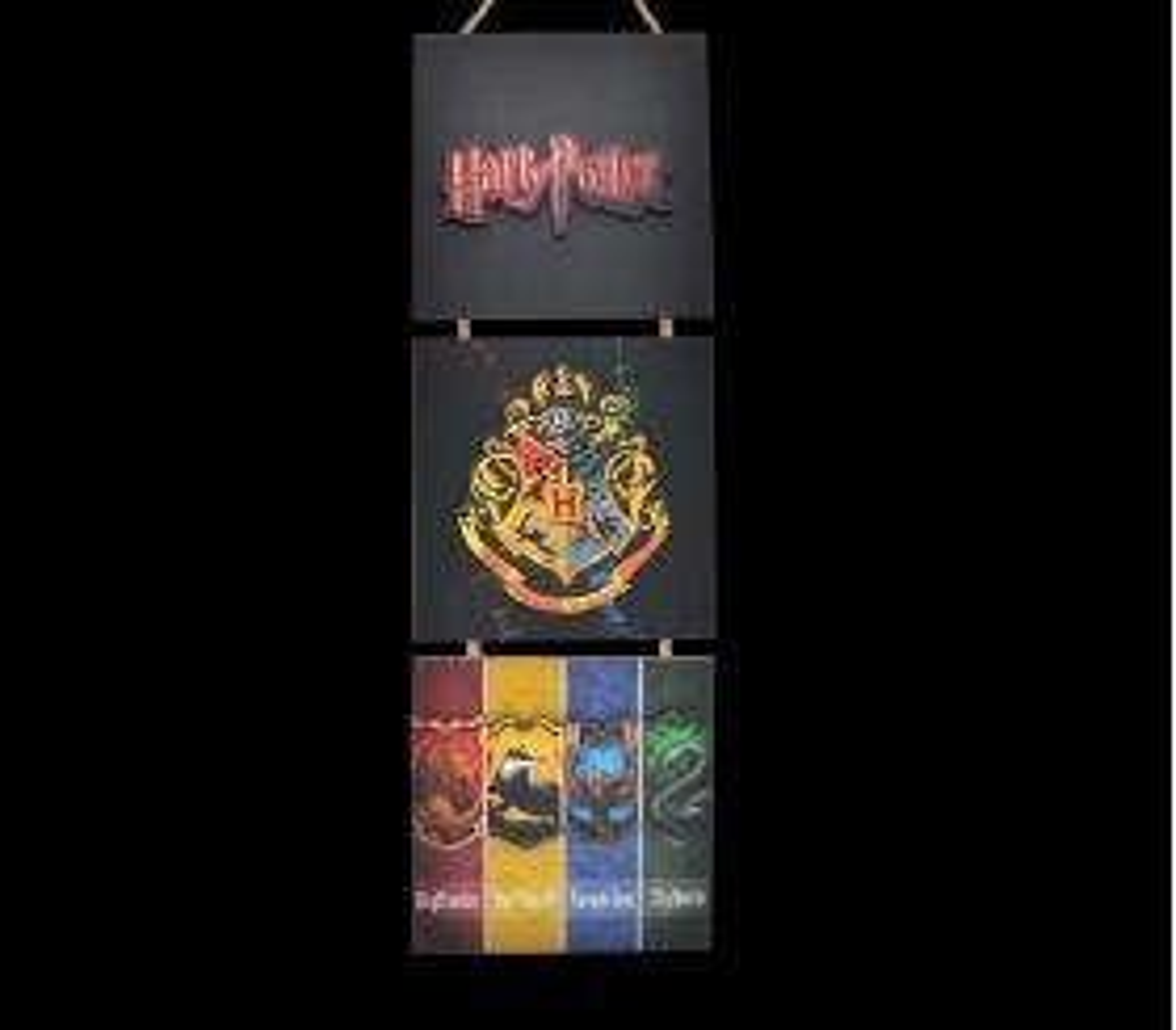 Harry Potter 3D Mdf Tablo - TAB0001