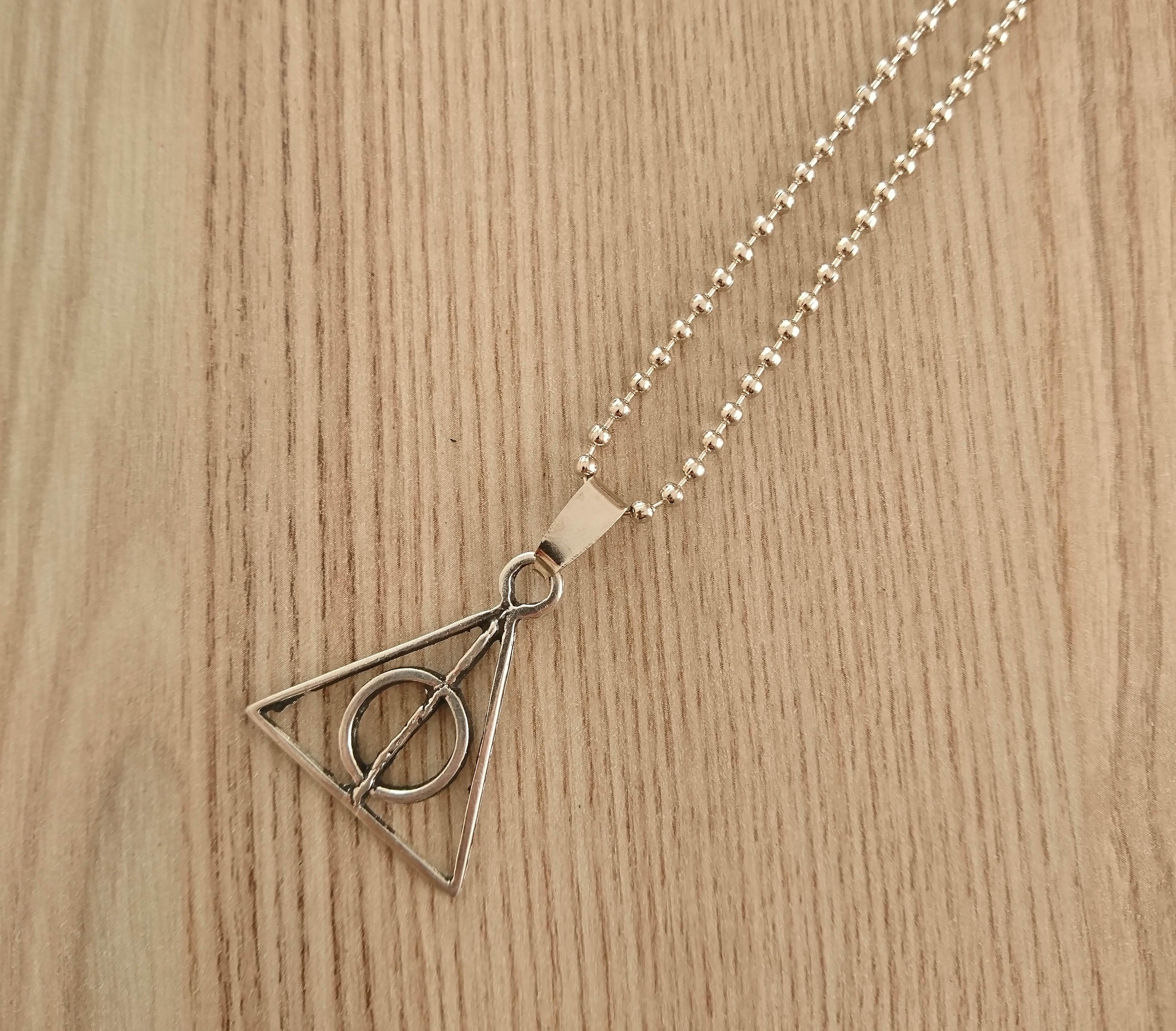 Harry Potter Ölüm Yadigarları Kolye - CAZ0052