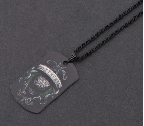 Harry Potter Slytherin Kolye - CAZ0033