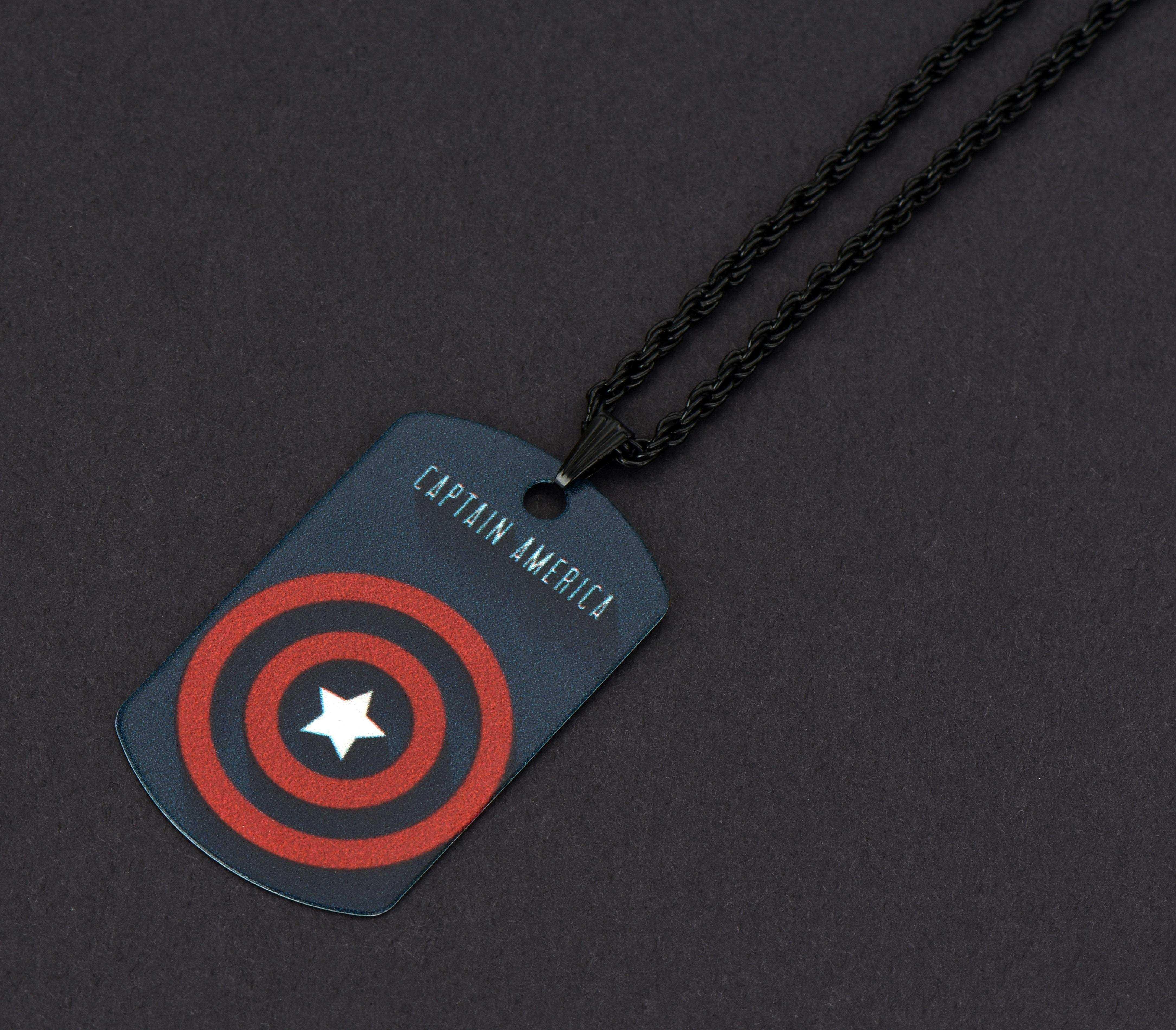 Kaptan Amerika Kolye - CAZ0073