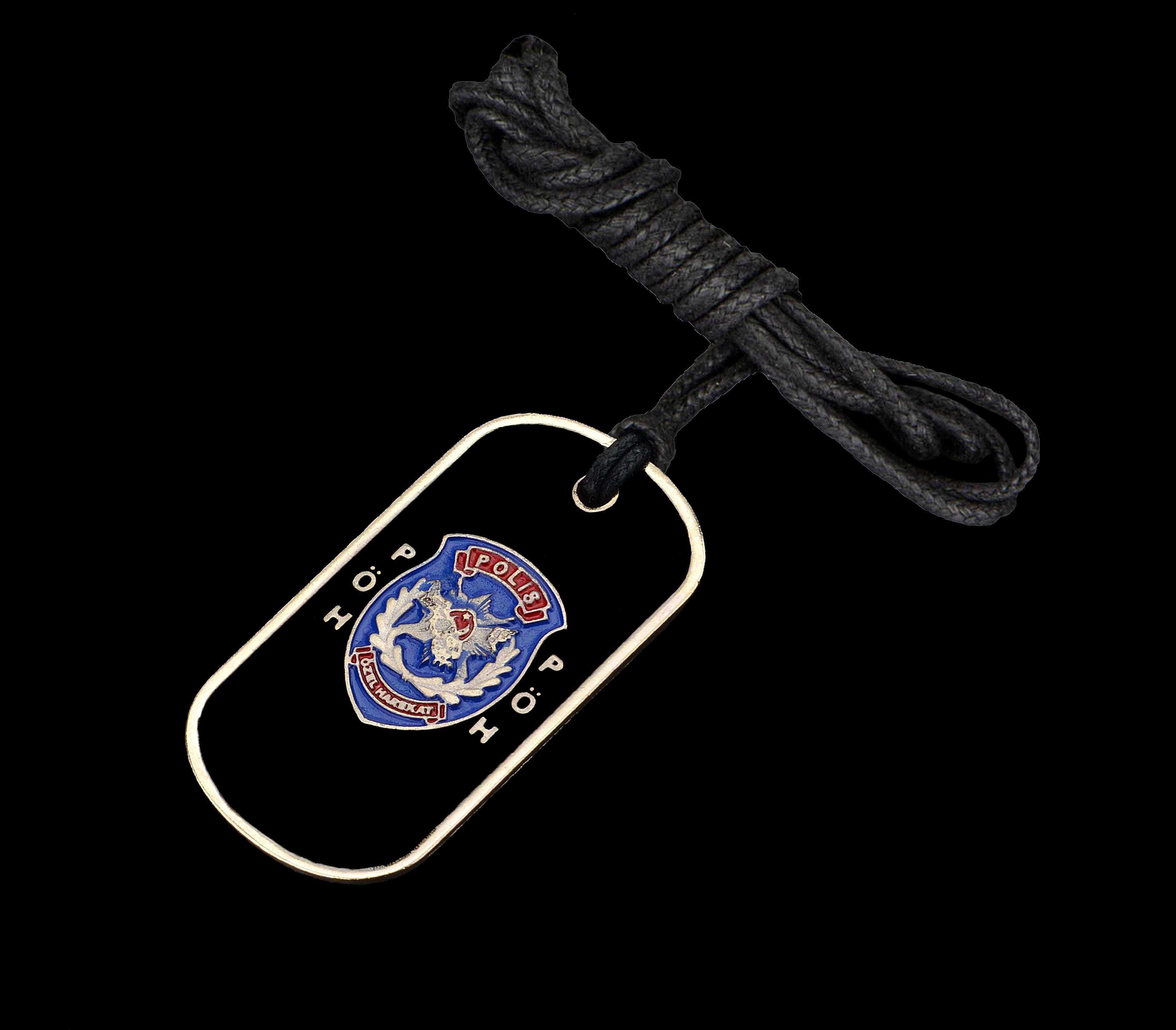 PÖH Polis Özel Harekat Künye Kolye - KOL0133