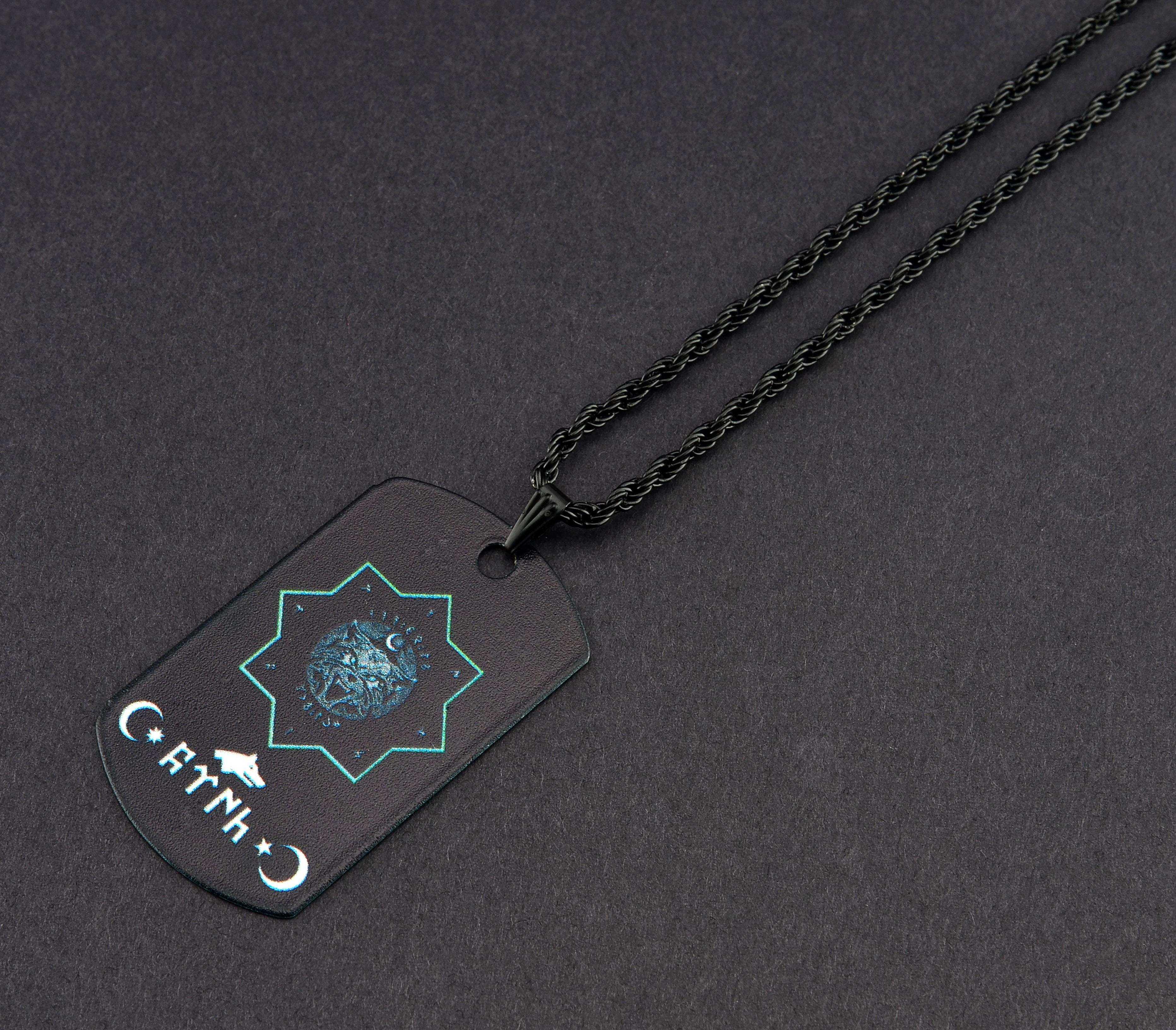 Selçuklu Yıldızı Künye Kolye - KOL0234