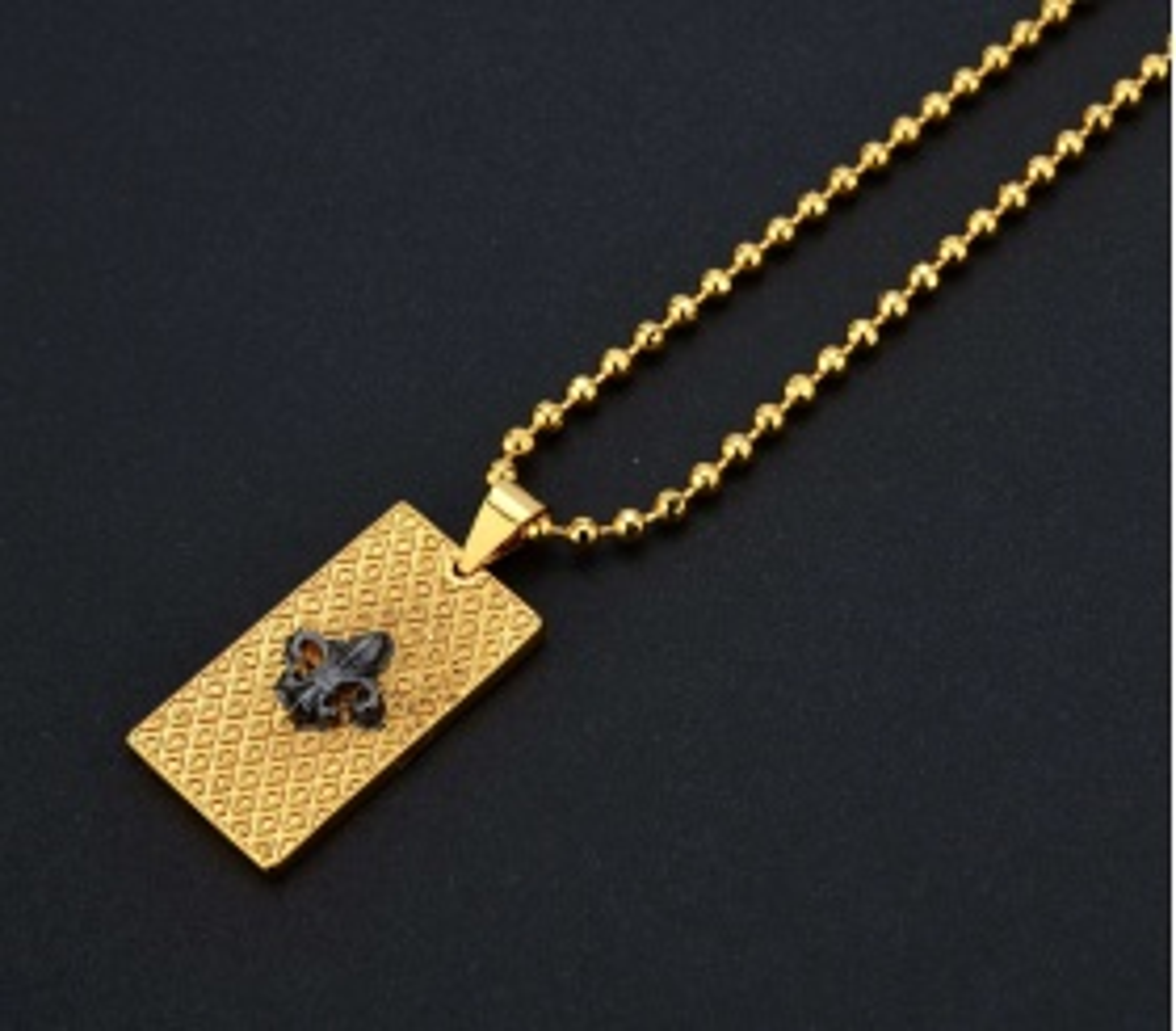 Luxury Elite Fleur De Lis Kolye - PRK0001