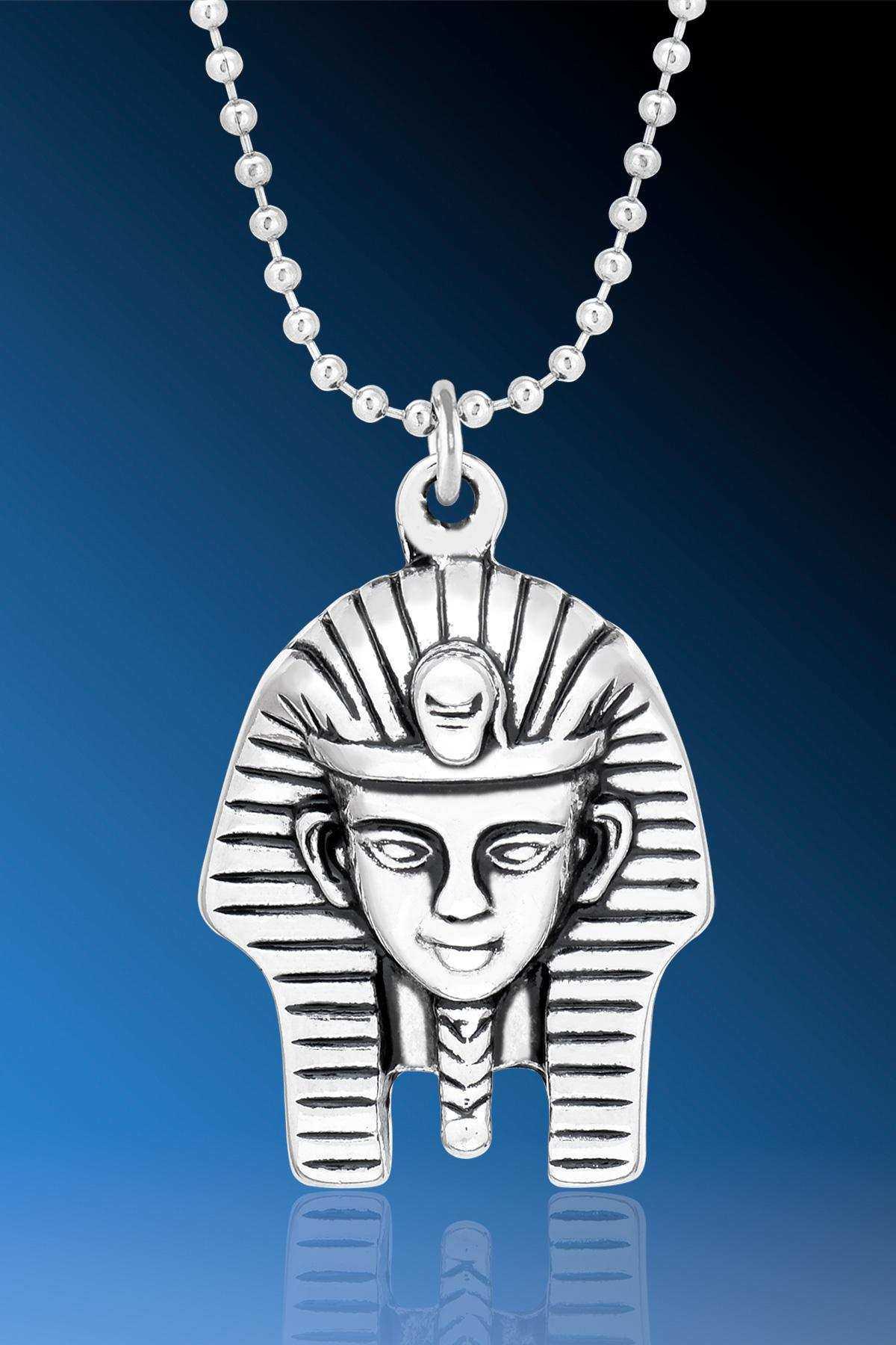 Antik Mısır Ranın Oğlu Mısır Kralı Firavun Kolyesi - CAZ0357