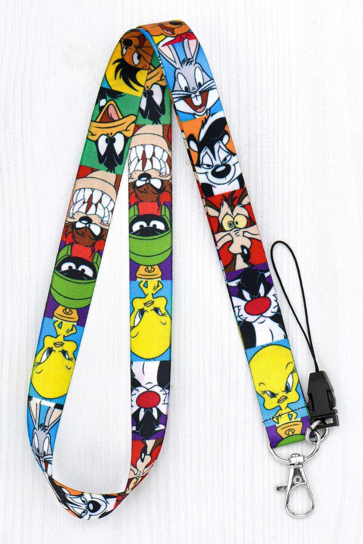 Looney Tunes Yaka Kartı Boyun İpi Telefon Askısı - ASK0084