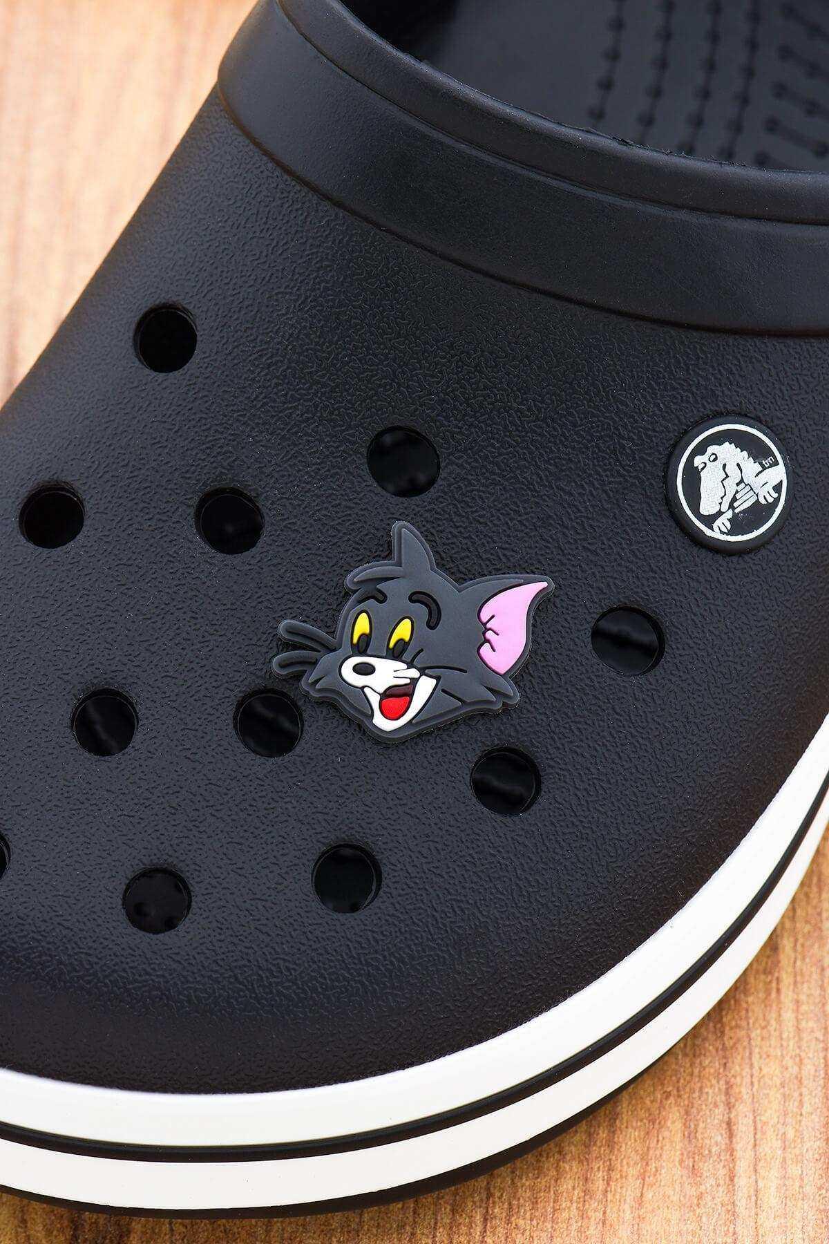 Tom ve Jerry Jibbitz Crocs Terlik Süsü Charm Terlik Aksesuarı - CRS0013