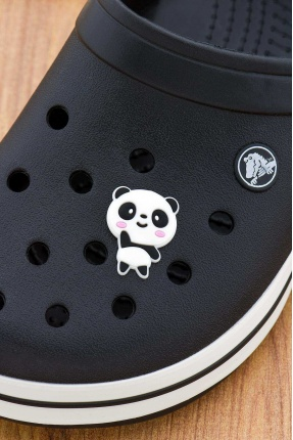 Sevimli Panda Jibbitz Crocs Terlik Süsü Charm Terlik Aksesuarı - CRS0024