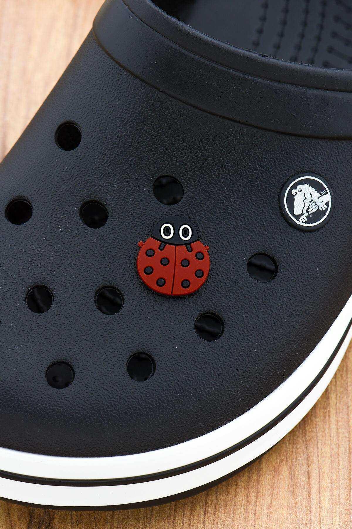 Uğur Böceği Jibbitz Crocs Terlik Süsü Charm Terlik Aksesuarı - CRS0011