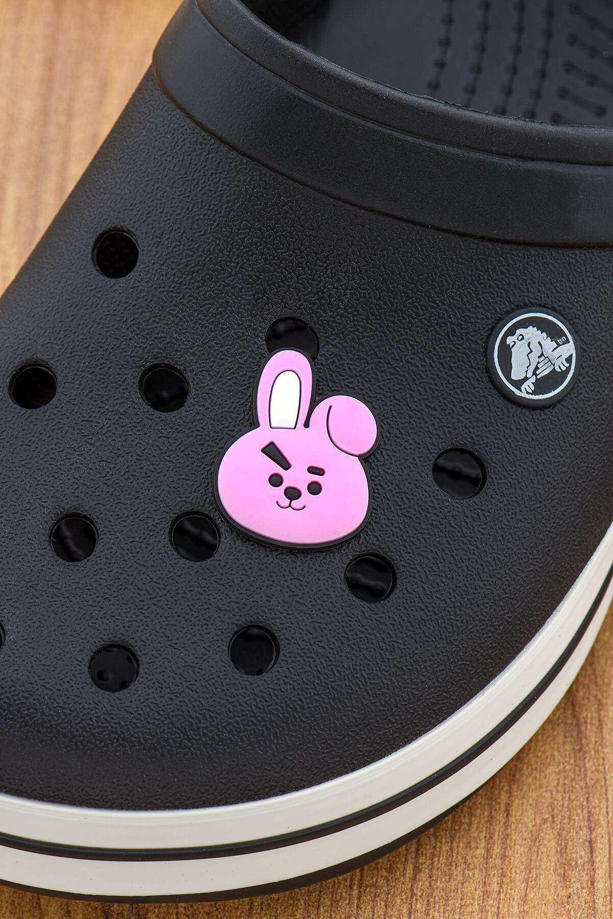 Pembe Tavşan Jibbitz Crocs Terlik Süsü Charm Terlik Aksesuarı - CRS0028