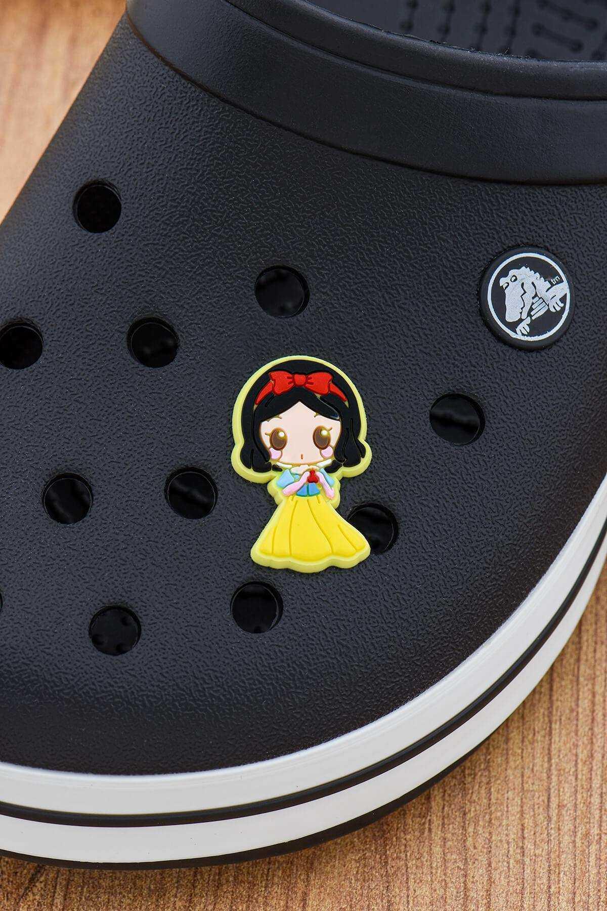Pamuk Prenses Crocs Süsü Bileklik Terlik Süsü Charm Terlik Aksesuarı - CRS0124