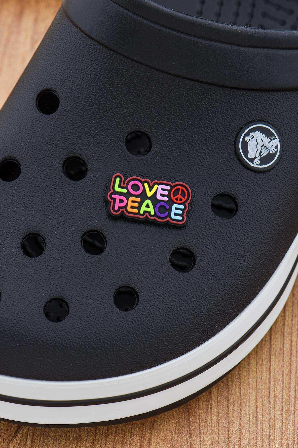 Barış Peace Crocs Süsü Bileklik Terlik Süsü Charm Terlik Aksesuarı - CRS0131